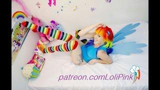 RAINBOW DASH COSPLAY / PONY GIRL