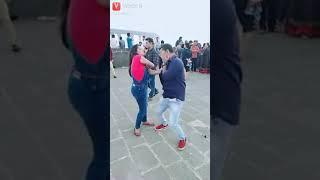 A girl beat boy
