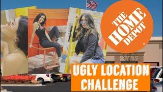 TOMANDO FOTOS EN HOME DEPOT / UGLY LOCATION CHALLENGE / NOS CORRIERON