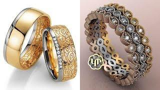 Beautiful Gold Ring Design Images / Photos Collection | New Fancy Gold Ring Design Pictures