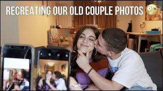 RECREATING OUR OLD COUPLE PHOTOS w/ Baby Ariel
