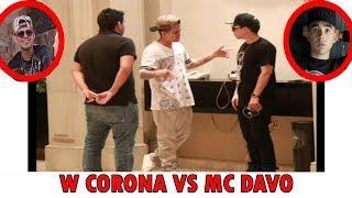 MC DAVO SE TOPO CON W CORONA DESPUÉS DE LAS TIRADERAS (FOTO)