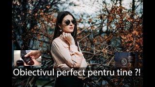 Obiectivul perfect pentru portret #sedinta #foto #primavara