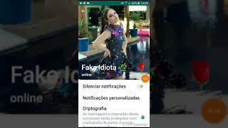 FAKE CHAT! MINHA CONVERSA COM UMA  DA LARISSA MANOELA