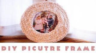 VALENTINES DAY GIFTS FOR HIM | DIY VALENTINES KIDS CAN MAKE FOR DAD | DIY KNIT SWEATER  PHOTO FRAME