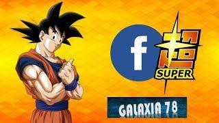 F SUPER : Goku sube una foto a Facebook