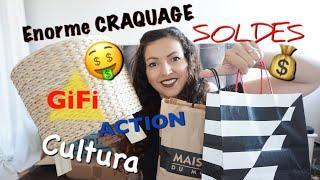 HAUL SOLDES ➳Gifi, Sephora, Action, Maison du monde, Dans mes pochettes & Cultura...