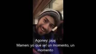 """Mamen: """"Agoney ha subido una foto  tuya...ah no....raoul... no?"""" A: """"Raúl es el fotógrafo"""" 11-2-19"""