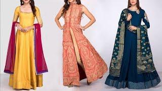 Latest Fashion Anarkali suit design images collection | Latest Kurt for 2018 | New dress photos