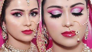 Recreating My INDIAN BRIDAL MAKEUP Video & Photos देखें मेरा शादी की वीडियो फोटो & मेकअप
