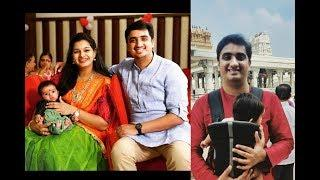 Singer Krishna Chaitanya Mrudula With Their New Baby Boy  Photos| Krishna Chaitanya | Mrudula
