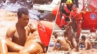 Stranger Saves Teen From Deadly Mudslide