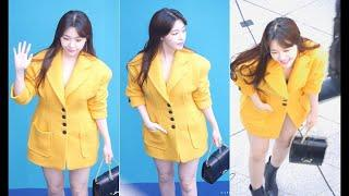 180323 Girls Day Mine - Seoul Fashion Week Foto Blue Carpet Photo (Dongdaemun DDP) Fancam langsung o
