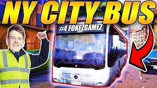 NY CITY BUS - ????2 MILLION KRONER ???? - BUS SIMULATOR 2018 - [#4] - [Dansk]