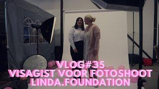 VLOG#35 VISAGIST VOOR FOTOSHOOT LINDA.foundation | All Things Rebel