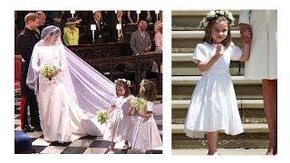 CUTE PRINCESS CHARLOTTE AS BRIDESMAID AT PRINCE HARRY WEDDING!!!!!