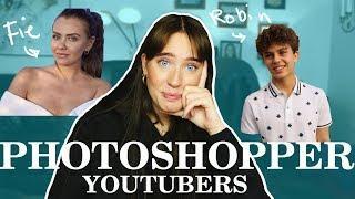 HVAD HAR JEG GJORT?! | Photoshopper YouTubers