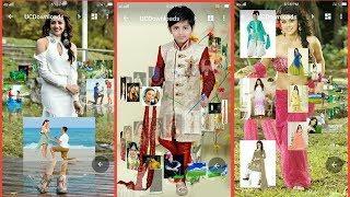 How to add photo in gallery || gallery ke home screen mein अपना फोटो कैसे लगाऐ | wedding green vfx#