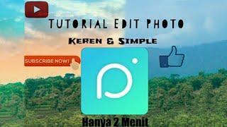 KEREN!!! Edit Foto Terbaikmu Dengan 1 Aplikasi [PICNIC] || Tanpa Photoshop dan Tanpa Ribet || Simple
