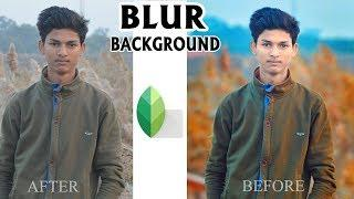 Best Snapseed Photo Editing ||  Best Color Effect Photo Editing || Blur Background in Snapseed 2018