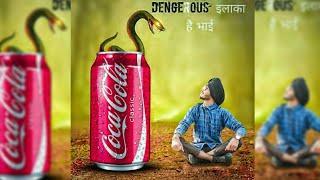 Rc Editz-Dengourus Cobra Photo Editing || Picsart Creative Photo Edit || New Photo Editing Tutorial