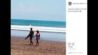 FOTO Iubitul Elenei Udrea, poză cu fostul ministru pe o plajă din Costa Rica