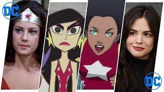 Wonder Girl (Donna Troy/Cassie Sandsmark) Evolution in Cartoons & TV (2018)