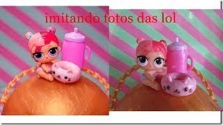 IMITANDO FOTOS DA LOL