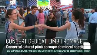 Ziua Limbii Române, marcată cu mare fast în centrul Capitalei