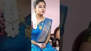 Tamil Girl cute Kiss Speech