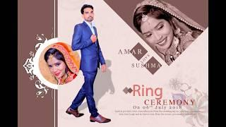 Amar wets Sushma || Ring Ceremony #001 || Modern Art Photography