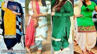 Latest Punjabi suit design - Beautiful Design for Salwar suit Lovers - Simple Stylish Design Idea