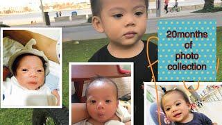 My baby's amazing tranformation | Birth to present photo collection | 20months of wonderful photos