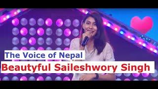 Beautyful Saileshwory Singh | The Voice of Nepal | Photo Collection