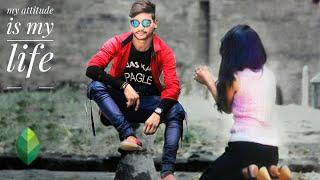High attitude photo editing in snapseed full tutorial +attitude boy with girl