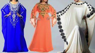 Floor Length Long gown Design Photo / Images 2018 | Latest Long Gown Collection