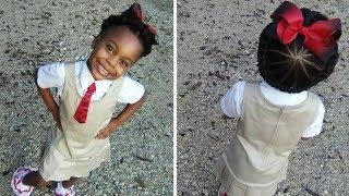 This Girl's Perfect Hair Was Ruined By Her First Day At School – But People Online Were In Stitches