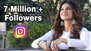 Jennifer winget (Zoya) of Bepannah crossed 7 million followers on Instagram