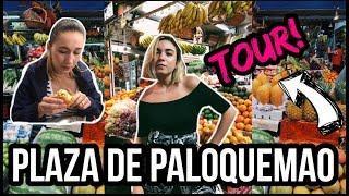TOUR PLAZA DE MERCADO DE PALOQUEMAO / VLOG DE DOMINGO /Manu & Carmen