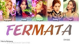 Girls Generation-OH!GG (소녀시대) - Fermata (쉼표) (Color Coded Lyrics Eng/Rom/Han)
