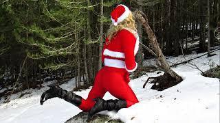 Sexy Santa's Helpers Striptis, Girl de Luxe,  boy dressing up like women's.