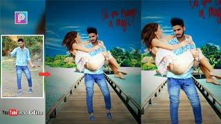 PicsArt Editing Tutorial | Boy Holding Girl in Hand | Love Photo Editing Tutorial