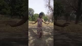 Small baby  dance