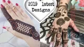 Latest Mehndi Designs For Eid 2019    New Mehndi Designs For Hands & Feet