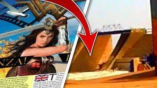 Nos pillan grabando los escenarios de Wonder Woman 2 : 1984 en Fuerteventura - Te lo mostramos