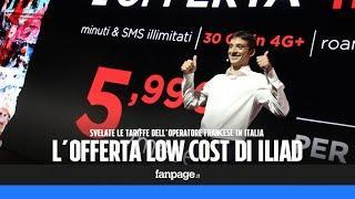La super offerta di Iliad: 5,99 euro al mese per 30 GB, minuti e SMS illimitati