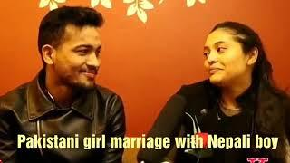 Pakistani girl marriage with Nepali boy  photos collection