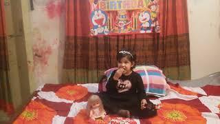 Happy BirthDay Labiba Cute Baby with real funny video