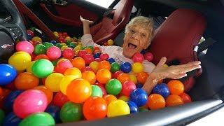 1 MILLION BALLS IN GIRLFRIEND'S CAR PRANK!