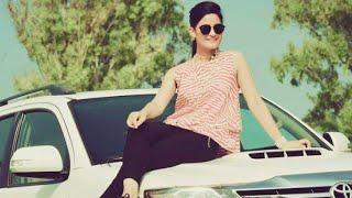 Cute photo pose girl with car ????